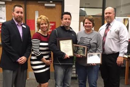 Honoring Two Teachers