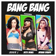 Jessie+J+ft.+Ariana+Grande+and+Nicki+Minaj+-+%E2%80%9CBang+Bang%E2%80%9D%0A%E2%80%9CBang+Bang%E2%80%9D+is+a+song+recorded+by+singers+Jessie+J%2C+Ariana+Grande%2C+and+rapper+Iggy+Azalea.+With+the+song%E2%80%99s+%E2%80%9Cclap+heavy%E2%80%9D+and+%E2%80%9Cbig+bouncy+beats+and+horn+blasts%E2%80%9D+it+went+straight+to+the+top+ten%2C+making+it+number+4+on+this+week%E2%80%99s+charts.