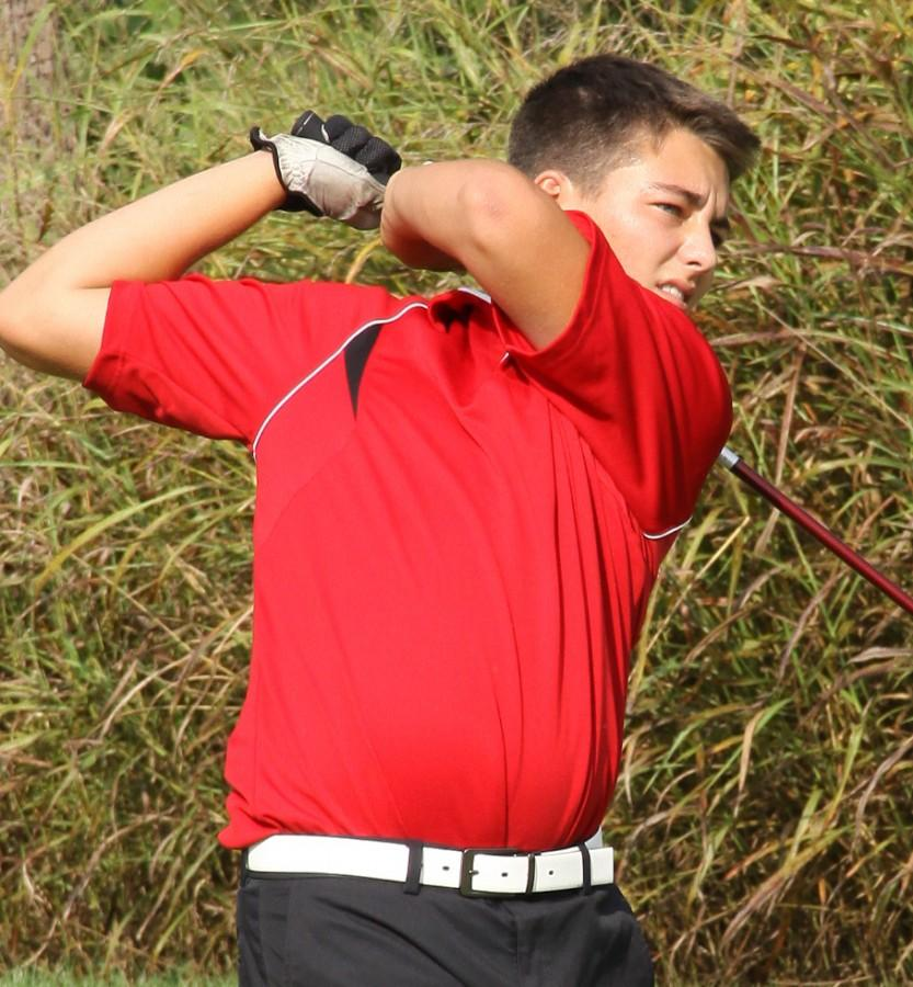 Grote Excited for Warrior Golf