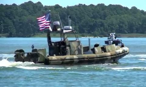 U.S Navy's Boat Drones
