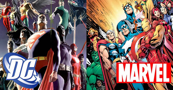 DC and Marvel: The Battle Begins