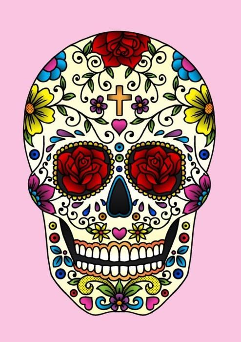 Dia De Los Muertos Granite High World