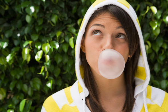 Gum Chewing Equals Better Grades?