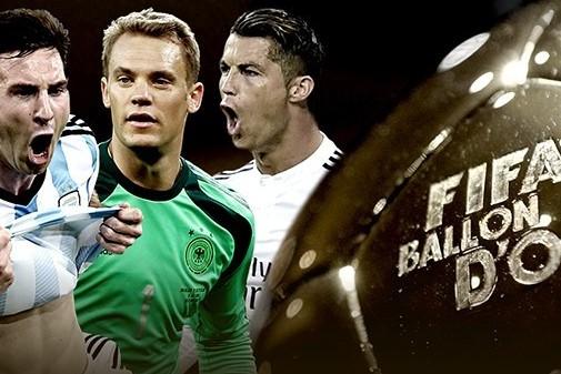 Ballon d'or Top 3 Nominees