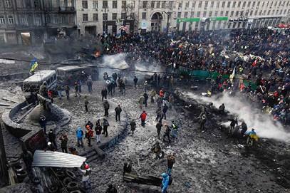 Ukraine Crumbles