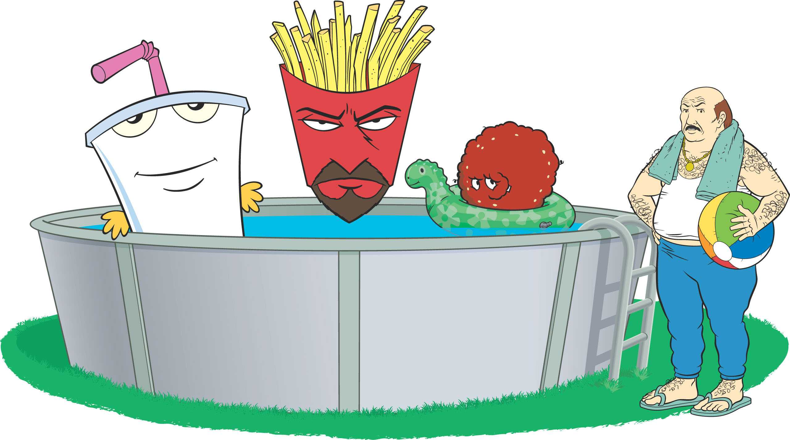 Aqua Teen Hunger Force Zombie Ninja Pro-Am -