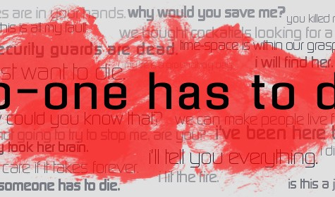 Review: No-One Has To Die