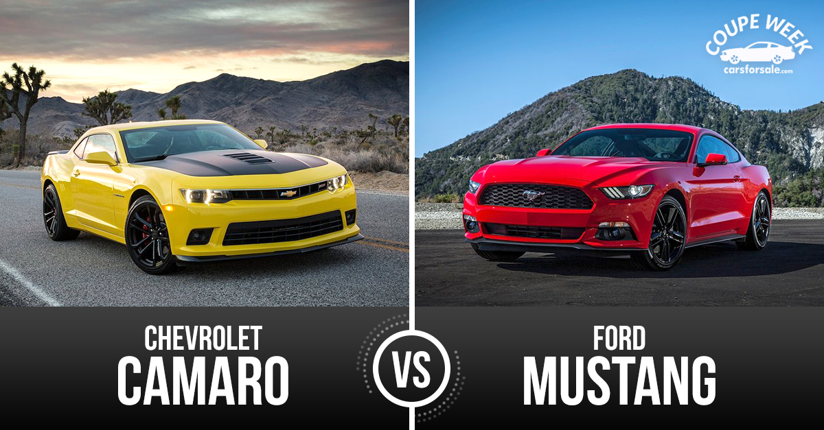 Chevrolet Camaro Vs Ford Mustang Granite High World