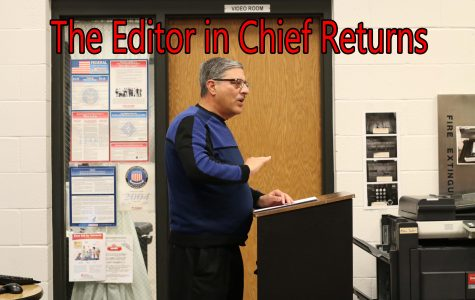 The Editor in Chief Returns