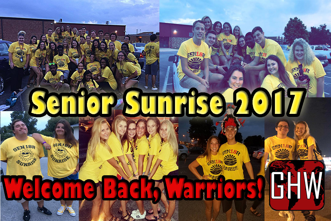 Senior Sunrise!