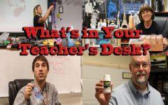 What's in Your Teacher's Desk?