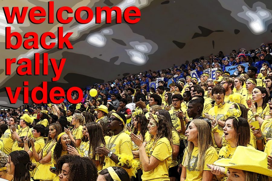 Welcome Back Rally Video