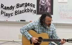 Mr. Randy Burgess Plays Blackbird