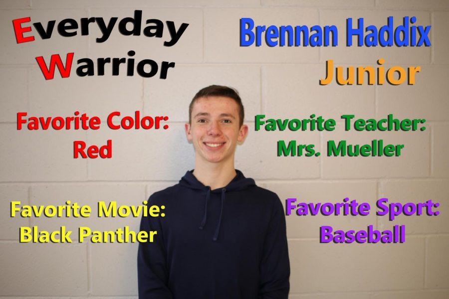 Everyday Warrior - Brennan Haddix
