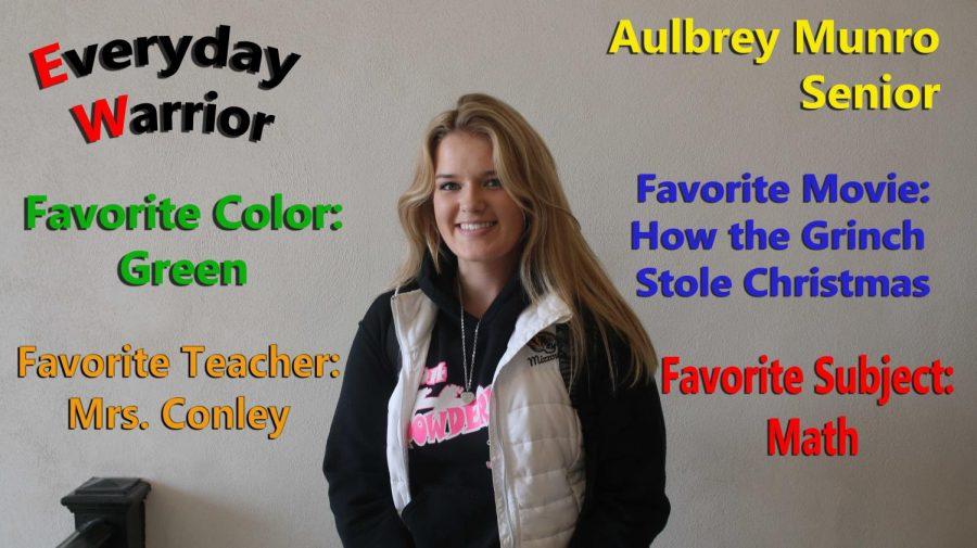 Everyday Warrior - Aulbrey Munro