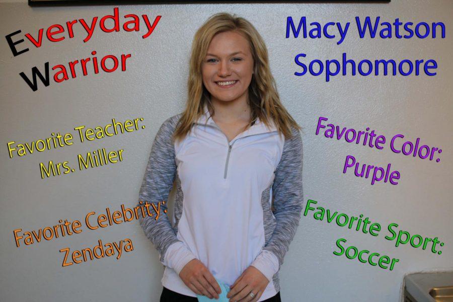 Everyday Warrior - Macy Watson