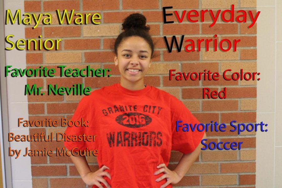 Everyday Warrior - Maya Ware