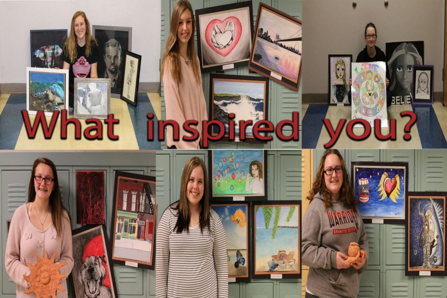 GCHS Art Students: What Inspires You?