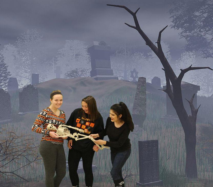 Halloween Scare Green Screen Slide Show