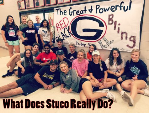 GCHS prepping for 2018 Homecoming