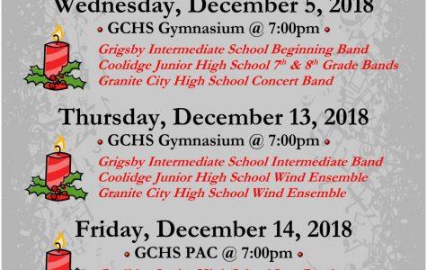 GCHS Band: A Christmas Concert