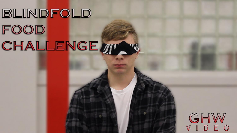 Blindfold Food Challenge