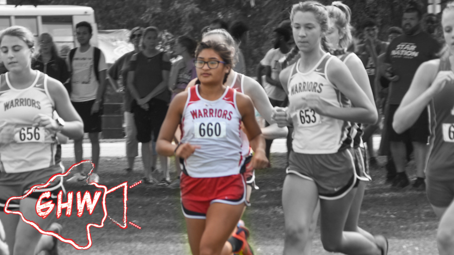GHW+interviews+Chessy+Nikonowicz+on+her+Cross+Country+State+finals.