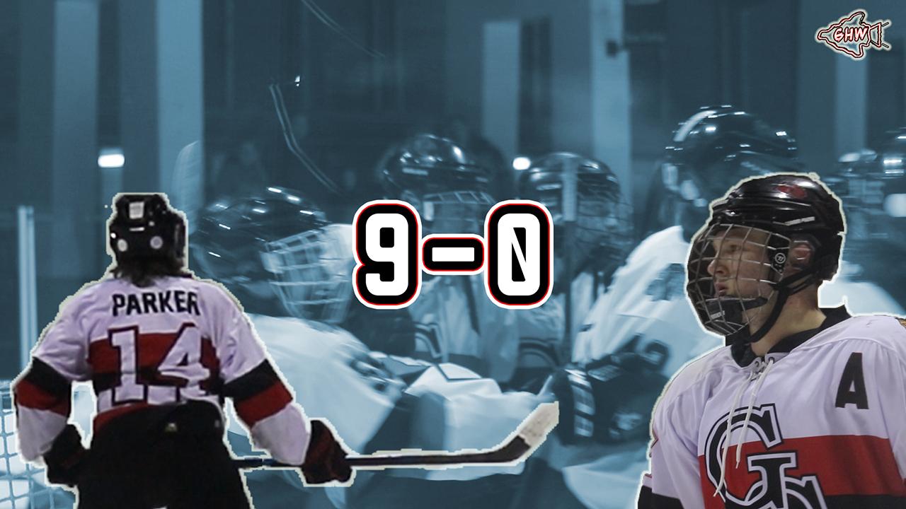 9-0 (Warriors Hockey Hype)